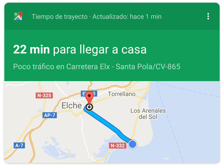 Actualizar Google Maps